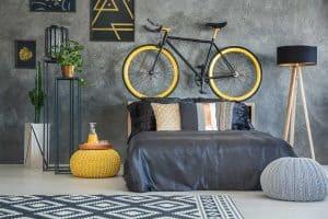 Bachelors bed room