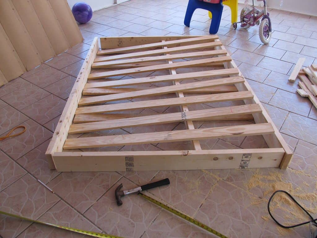 The Wooden Box Spring at home